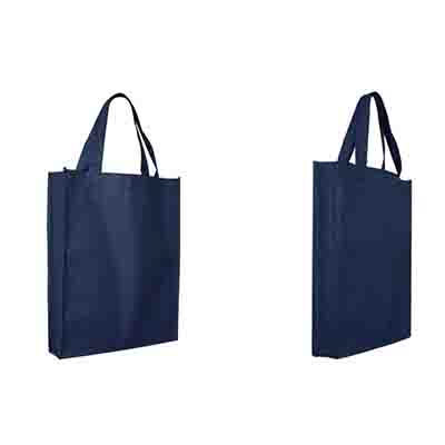Printed Blue Non-Woven Trade Show Tote Bags Online in Perth
