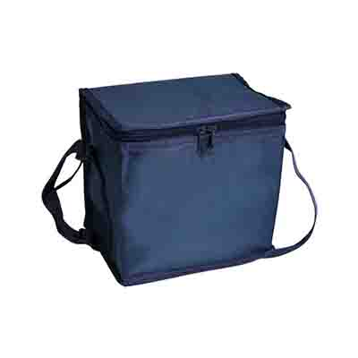 Printed Navy small Cooler Bags in Perth