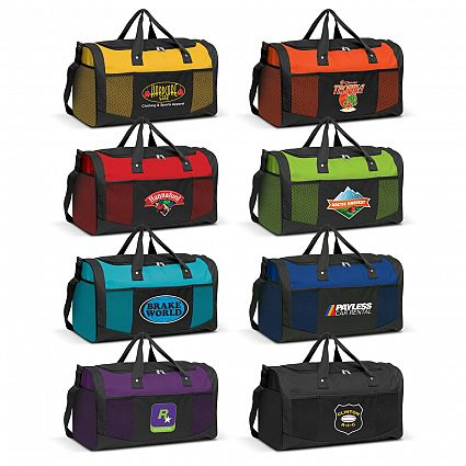 Printed Quest Duffle Bags in Perth