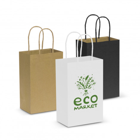 custom Paper Carry Bags Small in Perth