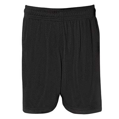 Promotional Black Kids Basketball Shorts in Perth