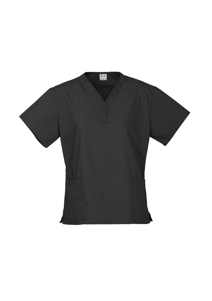 Order Black Ladies Classic Scrubs Tops Online in Perth