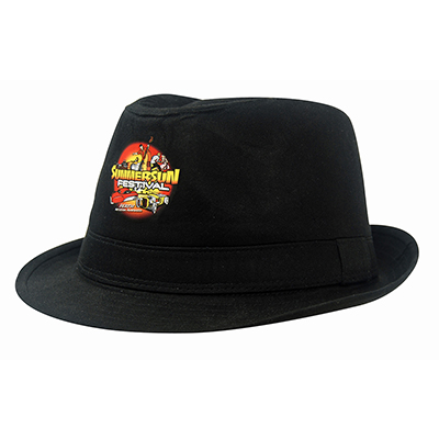 Promotional Fedora Cotton Twill Hat in Perth