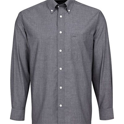 Custom Fine Chambray Shirt 4fc L/S in Perth