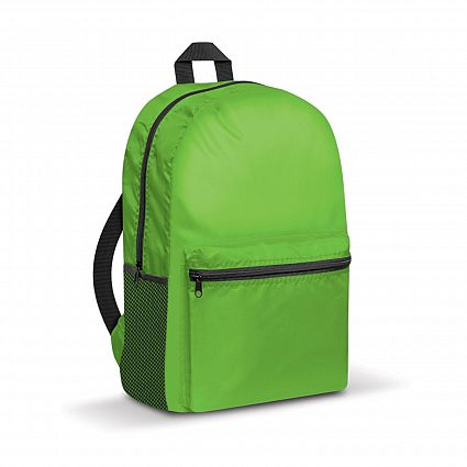 Promotional Green Bullet Backpack in Perth