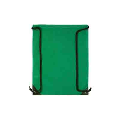 Promotional Green Non Woven Backsack in Perth