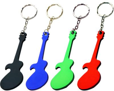 Promotional Guitar Bottle Keyrings in Australia