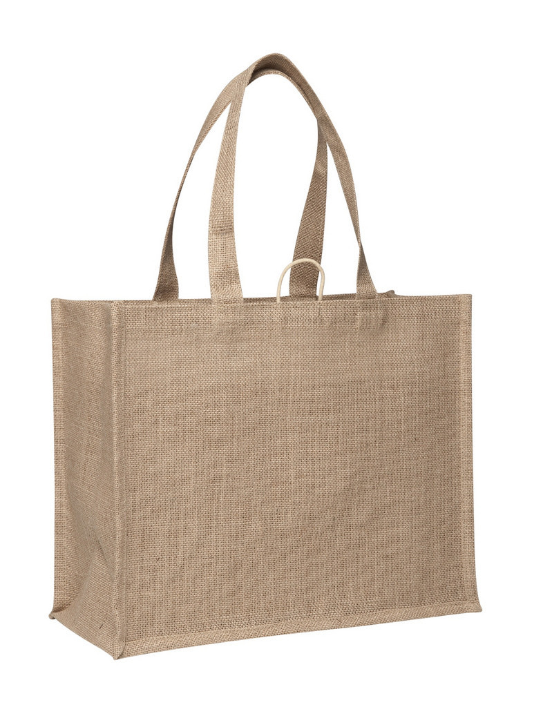 Promotional Laminated Jute Supermarket Bags in Perth, Australia