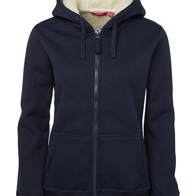 Promotional Navy Ladies Shepherd Hoodie in Perth