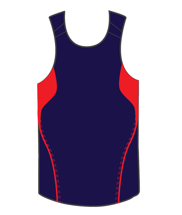 Promotional Printed Blue Terminator Basketball Singlets in Australia