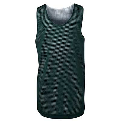 Promotional Printed Green Adults Basketball Singlets in Australia