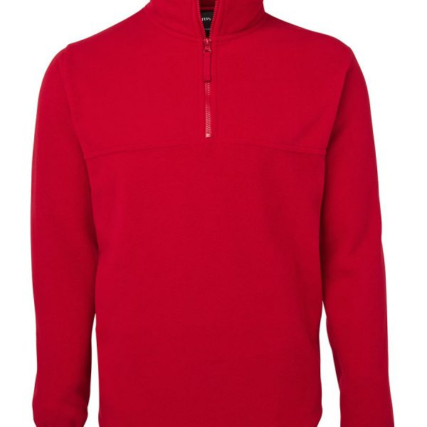 Promotional Red Zip Polar in Perth