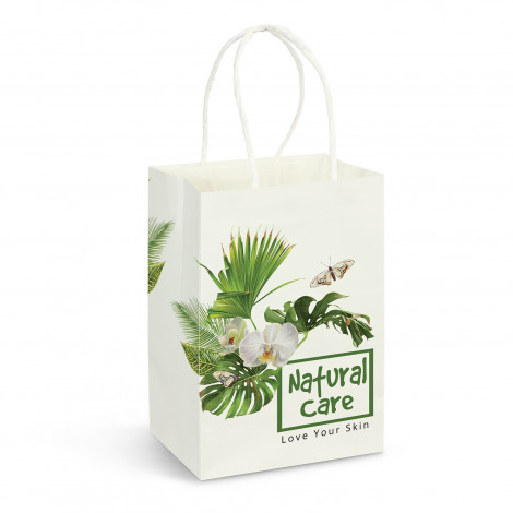 Custom Small Paper Carry Bag Full Colour Perth