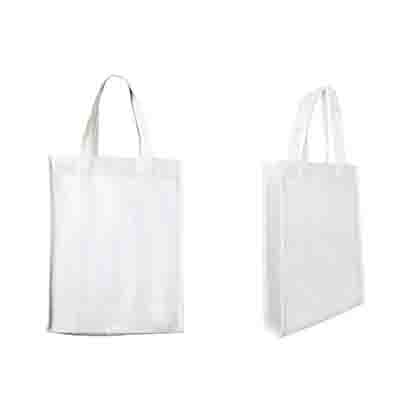 Promotional White Non-Woven Trade Show Tote Bags Online in Perth