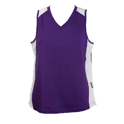 Custom Purple OC Ladies Basketball Jersey in Perth
