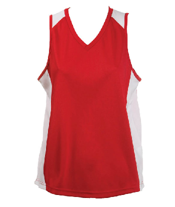 Promotional Redwhite OC Ladies Basketball Jersey in Australia