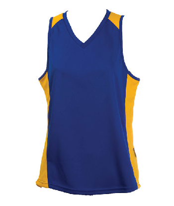 Buy Royalgold OC Ladies Basketball Jersey Online in Perth