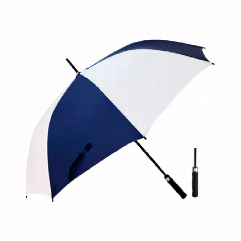 Custom Navy Golf Umbrella 2 Tone in Perth