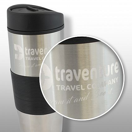 Custom Ventura Travel mugs in Perth, Australia