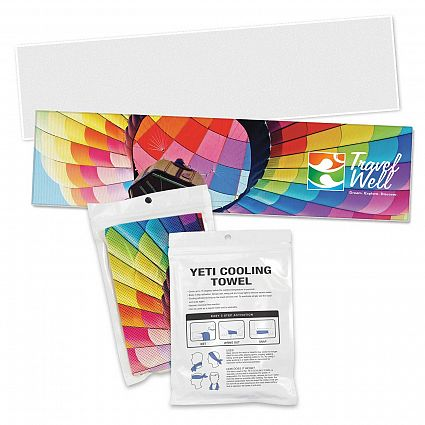 Yeti Premium Cooling Towel Full Colour in Perth