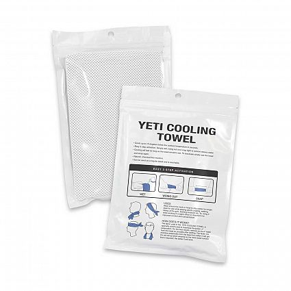 Yetti Premium Cooling Towel Full Colour Online in Perth Australia